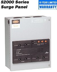 Leviton 52120-CM3 4 Mode Surge Protection Panel with Event Counter and Replaceable Modules