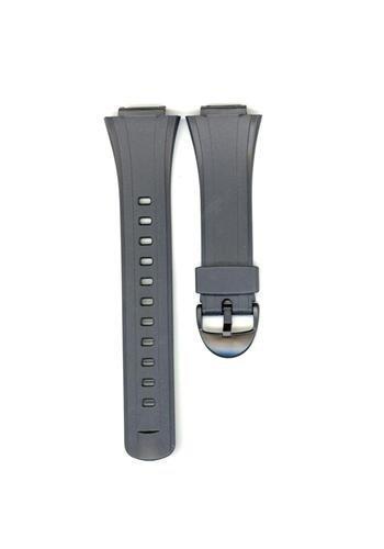 Genuine Casio Black Resin 27/16mm Watch Strap- 10090624