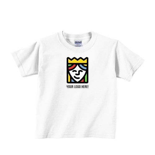 Custom Printed White Gildan Ultra Cotton T Shirts – Pack Of 25 by Queensboro Shirt Company