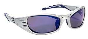3M 90988 Fuel High-Performance Safety Glasses with Platinum Frame and Purple Mirror Lens