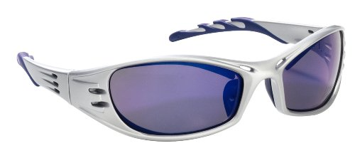3M 90988 Fuel High-Performance Safety Glasses with Platinum Frame and Purple Mirror - Sunglass Online