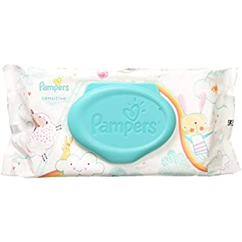 Amazon Com Pampers Sensitive Wipes Travel Pack 56 Count