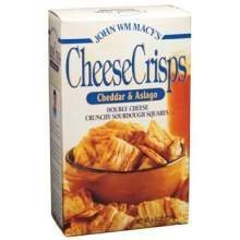 Cheddar and Asiago Cheese Crisp 4.50 Ounces (Case of - Hills Macys Beverly