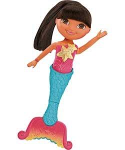 Dora The Explorer Dive And Swim Mermaid Dora Doll.