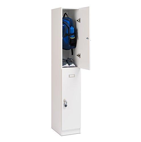 Prepac WSLS-0602-1 Elite Double Tier Locker