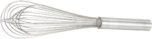 Winco Stainless Steel Piano Wire Whip, 14-Inch by Winco