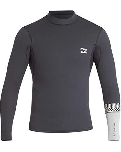 Billabong Men's 2/2 Revolution Dbah Long Sleeve Jacket Graphite X-Large