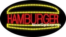 Animated Hamburger LED Sign