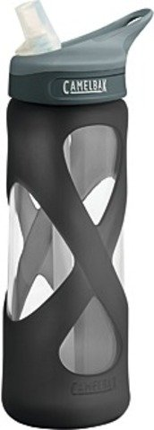 Camelbak Eddy Glass .75-Liter Water Bottle, Charcoal, Outdoor Stuffs