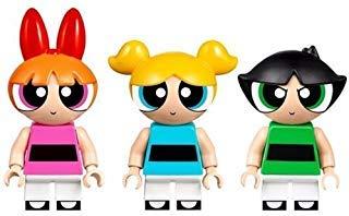 with LEGO Powerpuff Girls design