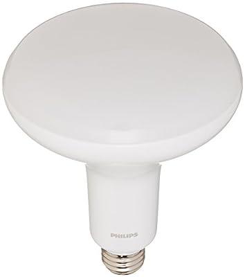 Philips 459834 - 8BR40/LED/850/DIM 120V BR40 Flood LED Light Bulb