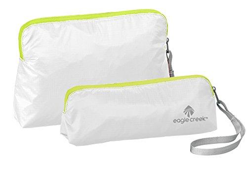 Eagle Creek Pack-It Specter Wristlet Set (Extra S/S) 2pc, White/Strobe