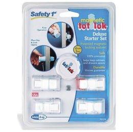 Safety 1st Magnetic Tot Lok Complete Set