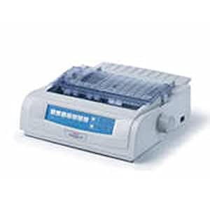 OKIDATAML 490 B/W Dot-Matrix Printer 360 Dpi 24 Pin 315 Cps Parallel 120 V