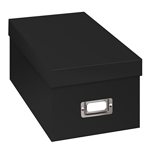 Pioneer Photo Albums BCD-1BLK CD/DVD Storage Box, Black