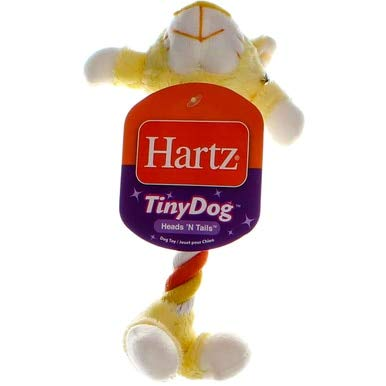 Hartz Tiny Dog Heads and Tails Toy-1 Each