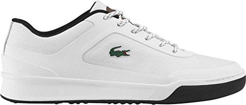 Lacoste - Mens Explorateur Sport 117 3 Cam Shoes White