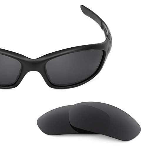 Revant Polarized Replacement Lenses for Oakley Straight Jacket (2007) Elite Stealth Black by Revant