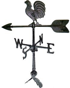 - Montague Metal Products 24-Inch Weathervane with Rooster Ornament