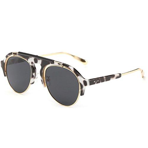 Sinkfish SG80028 Gift Sunglasses for Women,Anti-UV & Fashion Polarizer - UV400 - Black Carrera Matte Sunglasses Champion