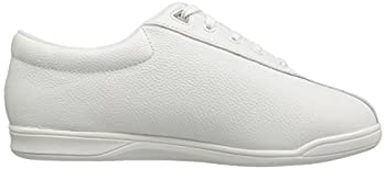 Easy Spirit Ap1 Sport Walking Shoe, White Leather, 5 M 6