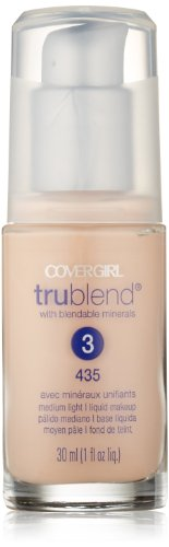(CoverGirl Trublend Liquid Make Up Medium Light 435, 1.0-Ounce Bottle)