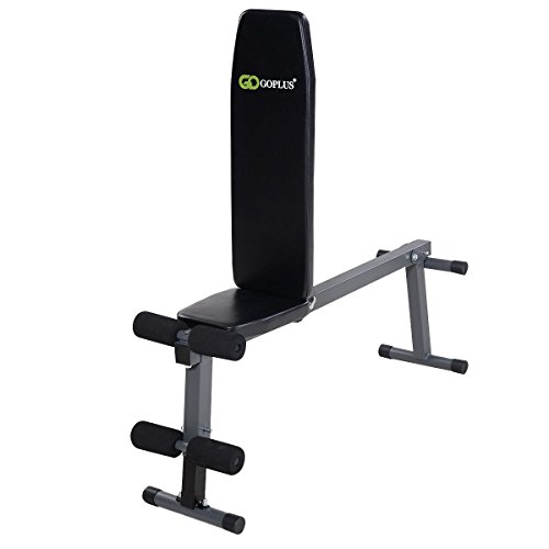 MyEasyShopping Adjustable Folding Sit up Incline Abs Bench Abs Bench Adjustable Folding Sit Up Incline Weight Ab Flat Fly Workout Gym by MyEasyShopping