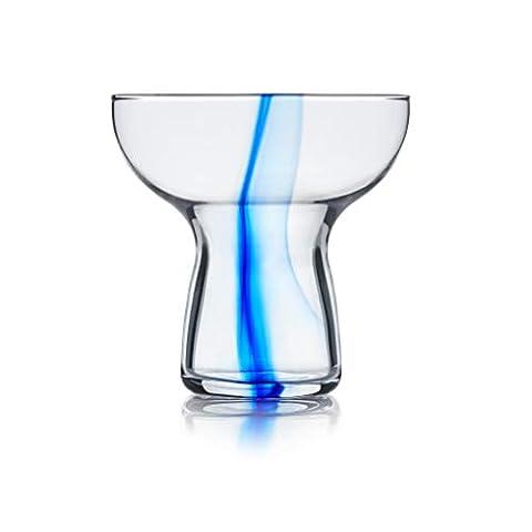 Libbey Blue Ribbon Stemless Margarita Glasses, Set of 6