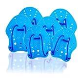 escualo Paletas para Natación Azul Talla Chica