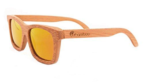 Gafas Bamboo - Gafas de madera de bambú Savanna Sunset polarizadas: Amazon.es: Ropa y accesorios