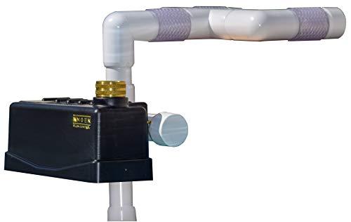 - Staypoollizer Premium with Nxgen Flow Control (White) Automatic Pool Water Leveler