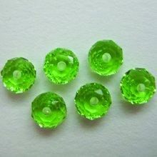 Jolees Jewels Swarovski Elements - EK Success - Jolee's Jewels - Crystallized Swarovski Elements Collection - Jewelry Beads - Donut - 6 mm - Peridot
