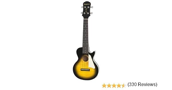 Epiphone Les Paul Acoustic/Electric Ukulele Outfit - Guitarra ...