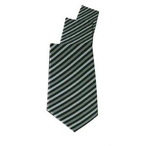 Obras uniformes corbata gris Skinny Stripe Color: gris con rayas ...