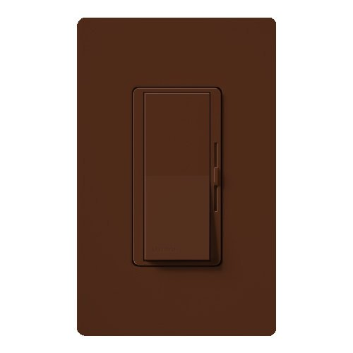 UPC 027557170642, Lutron DVSCLV-600P-SI Diva 450-watt Single Pole Magnetic Low-Voltage Dimmer, Sienna