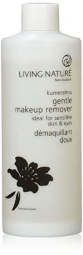 (LIVING NATURE I00% NATURAL GENTLE MAKEUP REMOVER I 100 ml (3.38 fl oz) I CRUELTY FREE l CERTIFIED NATURAL)