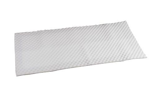 Bilt-Rite Mastex Health Convoluted Mattress Pad, White