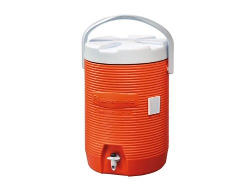 Rubbermaid 168301 Insulated Beverage Container 3 Gallon , Orange
