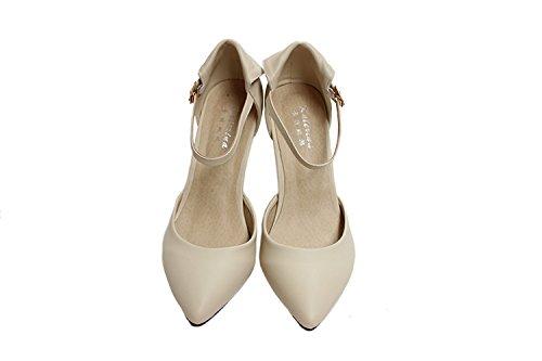 CFP mujer Beige Zapatos de tacón 7qtY7wxrA