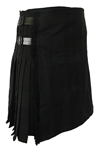 100% 13 oz Black Isle Wool Scottish Kilt 42 by UT Kilts