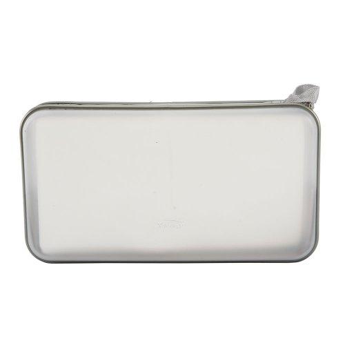 Olymstore(TM) 80 Capacity Plastic Portable Disc CD DVD VCD Music Album Wallet Holder Storage Bag Box Case Carrying Bag (White)