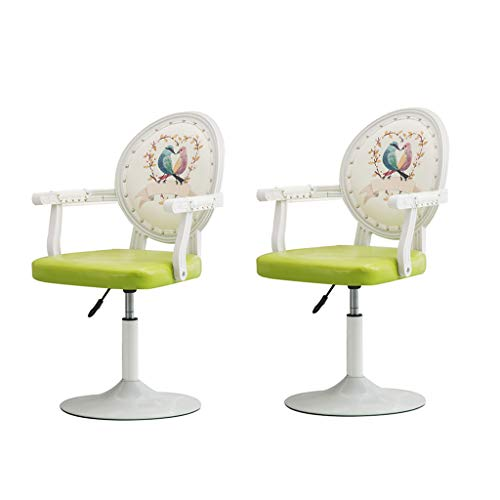 Fly silla plegable C-K-P Taburete de Bar 360 Grados de rotacion Ascensor Taburete Taburete de Cocina Taburete Aumentar Mat 4 Colores (Color : A2)