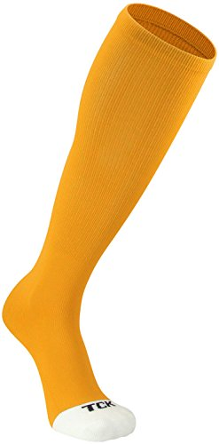 TCK Prosport Performance Tube Socks (Gold, Small)