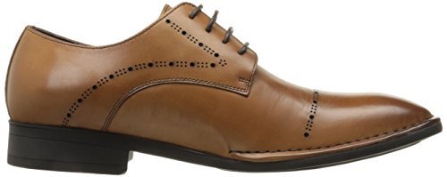 Kenneth Cole New York Mens Diviso Secondo Cognac Oxford