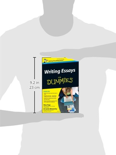 com writing essays for dummies mary page  com writing essays for dummies 8601420182073 mary page carrie winstanley books
