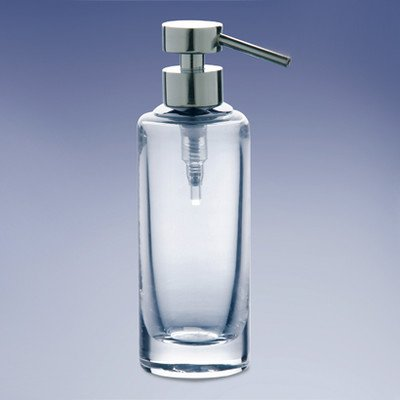 Windisch Windisch 904141-CR Plain Crystal Soap Dispenser, 1.5