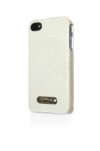 Executive Ed Hardy Faceplate for iPhone 4 - Tiger - White - Ed Hardy One Piece
