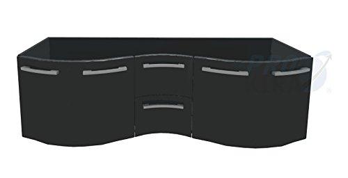 Pelipal Primadonna Waschtischunterschrank / PR-WTUS 10 / Comfort N / 175x52x49,5cm