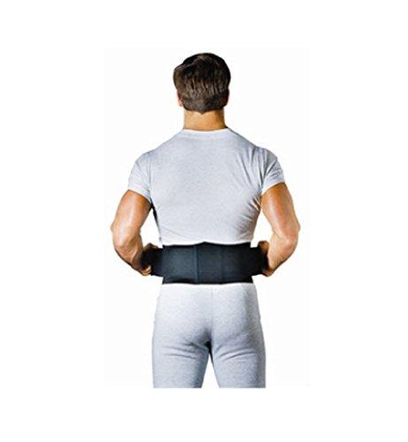 Sport Aid Duroform Back Belt, 6'', Medium/Large, Black [1 Each (Single)] by SCOTT SPECIALTIES CMO INC