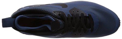 Nike Air Max 90 Mi Wntr Chaussures Mens 806808-002 Bleu / Noir